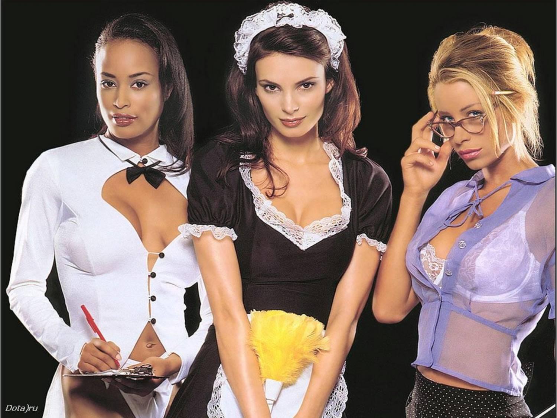 Три девочки лесбиянки 4 фотография